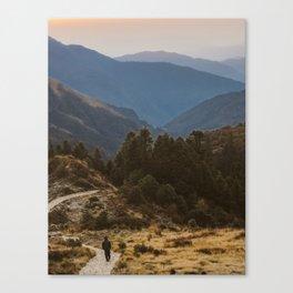 Himalaya Wanderings Canvas Print