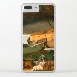 Noah's Ark by Edward Hicks Clear iPhone Case