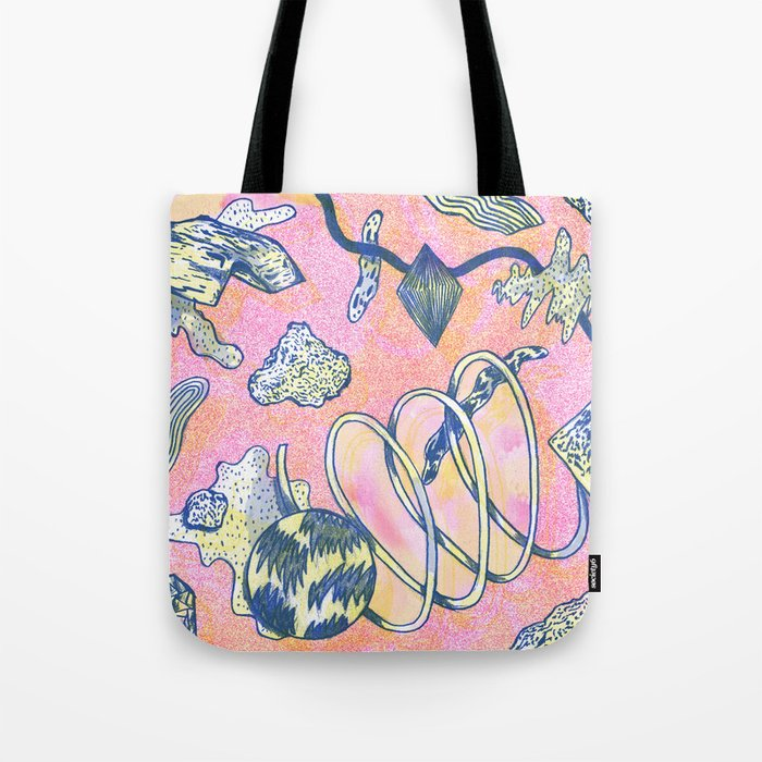 Future dust Tote Bag