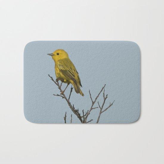 Yellow Warbler Bath Mat