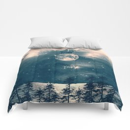 One Day I Fell from My Moon Cottage... Comforters