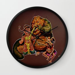 Jabba The Snot Wall Clock