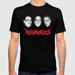 "The Polkaholics!  ""Polka Heads!"" T-shirt"