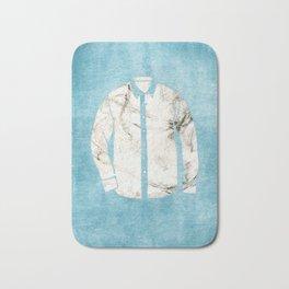 Blue Tshirt Bath Mat