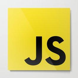 Javascript (JS) Metal Print