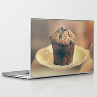 cupcake Laptop & iPad Skins featuring Cupcake  by Caroline Mint