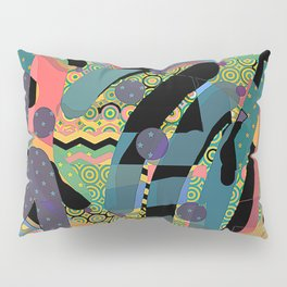 HODGE PODGE FIGURES IN LIMBO Design Illustration Pattern Print Pillow Sham