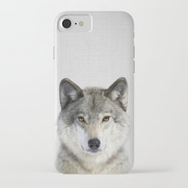 Wolf 2 - Colorful iPhone Case