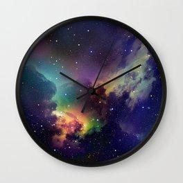 Abstract Space Fantasy Wall Clock