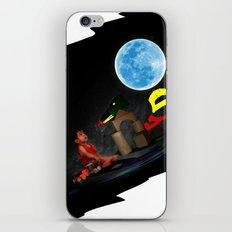 Watching the Moon iPhone & iPod Skin