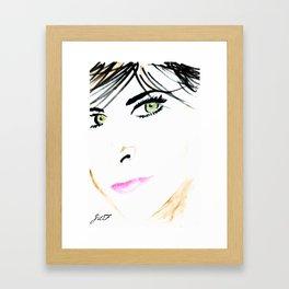 Eyes For You Framed Art Print