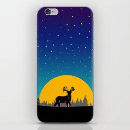 Deer Moon iPhone Skin
