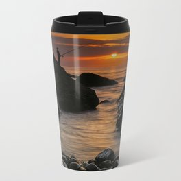 End of a beautiful day Metal Travel Mug