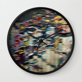 Jumbled Thoughts Wall Clock