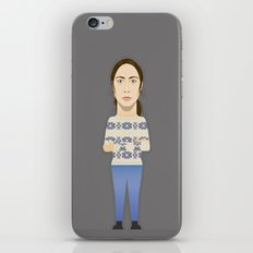 Watching The Detectives #1: Portrait iPhone & iPod Skin