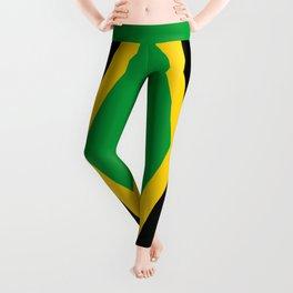 Flag of Jamaica Leggings