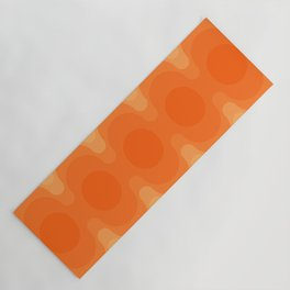 Echoes - Creamsicle Yoga Mat