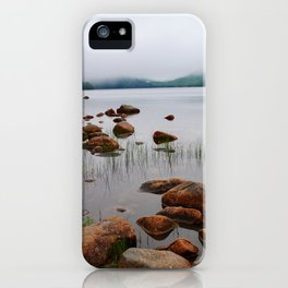 Acadia Fog - Acadia National Park iPhone Case