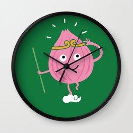 Onion Ring Wall Clock