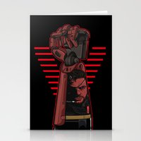 metal gear Stationery Cards featuring Metal Power Gear by Akyanyme