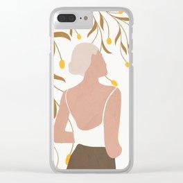 Soft Summer Breeze Clear iPhone Case