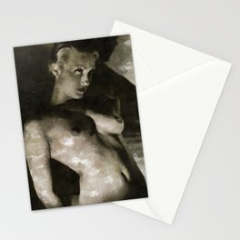Vintage Nude Stationery Cards