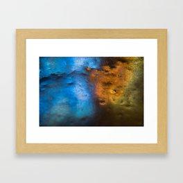 Light in Contrast Framed Art Print
