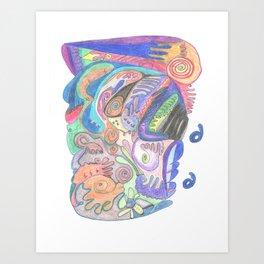 Drawing #8 Art Print