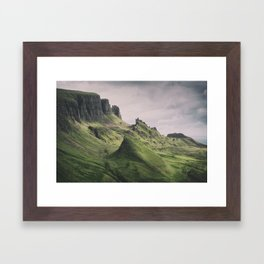 The Majesty of the Quiraing Framed Art Print