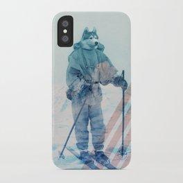 Husky Exploration iPhone Case