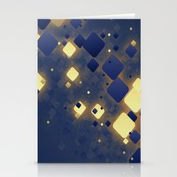 data Stationery Cards featuring Data Skys by ReinventZen