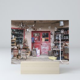 The Antique Shop Mini Art Print