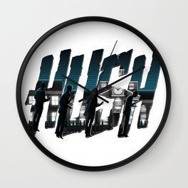 Hushed - White Variant Wall Clock