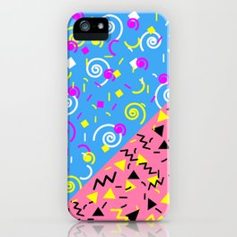 SAVED BY THE 90'S iPhone Case