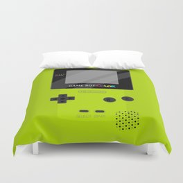 Gameboy Color - Green Duvet Cover