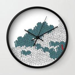 Crowed Wall Clock