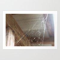 Spider's Spires Art Print