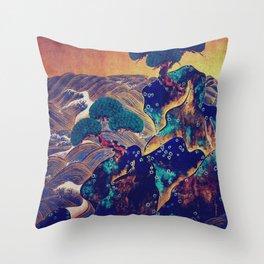 The Screen Vision of Siheniji Throw Pillow