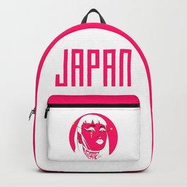 Tokyo Woman Japan Backpack