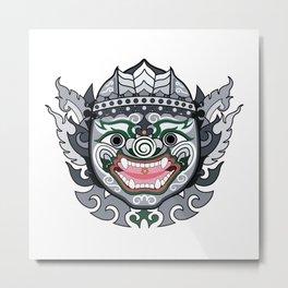 MONKEY HANUMAN Metal Print