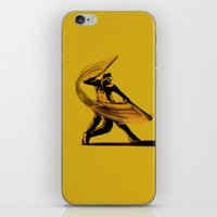 baseball iPhone & iPod Skins featuring Baseball by Enzo Lo Re