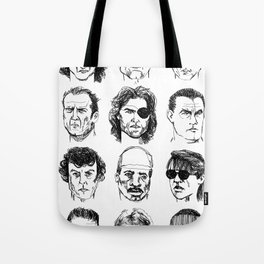 80s Action Stars Tote Bag