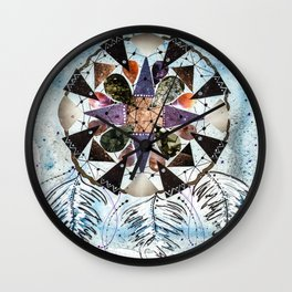 Dream Catcher Mandala Wall Clock