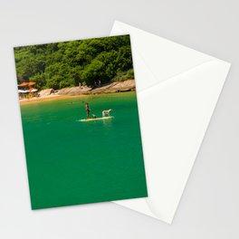 Beach in Buzios, Rio de Janeiro (Brasil) Stationery Cards