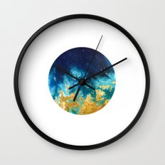 Abstract planet Wall Clock