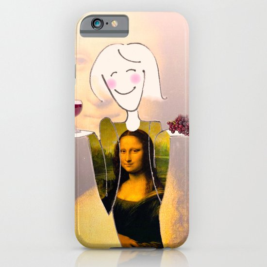 She Hearts Mona iPhone & iPod Case