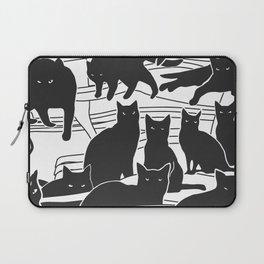 Black cats Laptop Sleeve