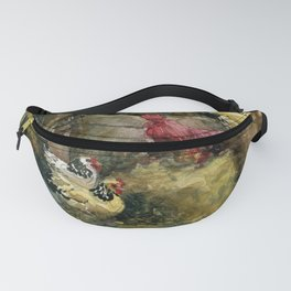 Prophetstown Chickens Fanny Pack