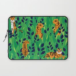 Tigers in the jungle Laptop Sleeve