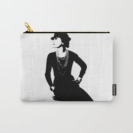 Mademoiselle Coco   Carry-All Pouch